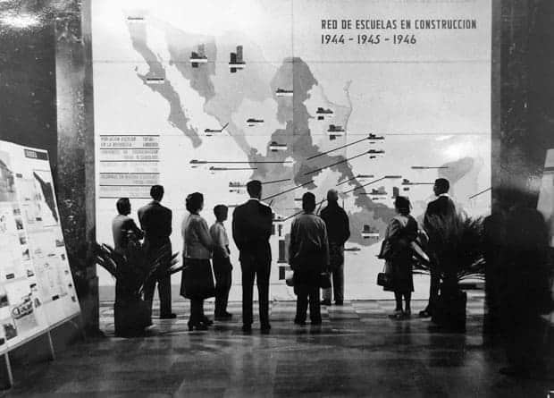 Exposición del Comité Administrador del Programa Federal de Construcción de Escuela Bauhaus
