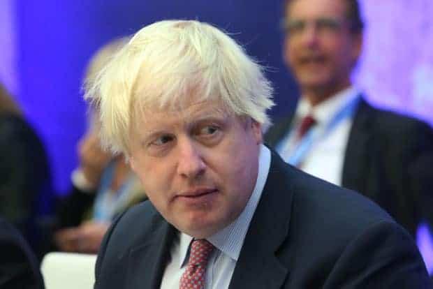 Boris Johnson, primer ministro de Inglaterra