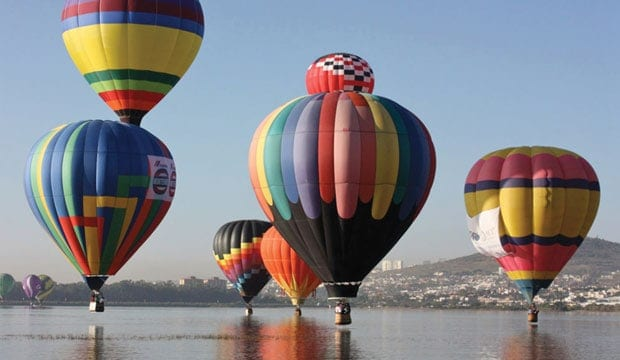 Feria del globo en León Guanajuato