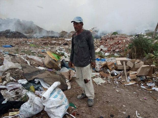 Santiago de Cuba basureros