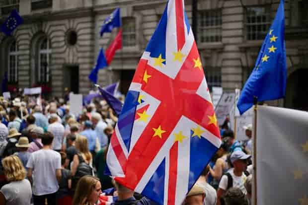 Protestas Brexit Inglaterra