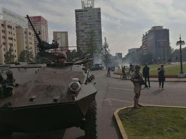 Sebastián Piñera Protestas Chile
