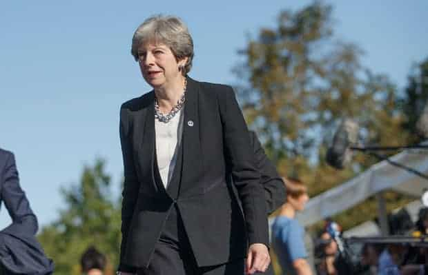 Theresa May, ex-primer ministra