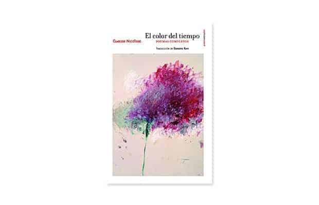 El color del tiempo de Clarisse Nicoïdski libros de poesía