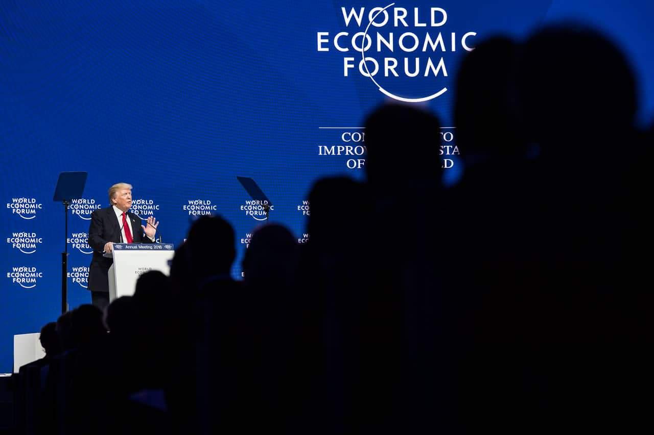 Donald Trump en el World Economic Forum