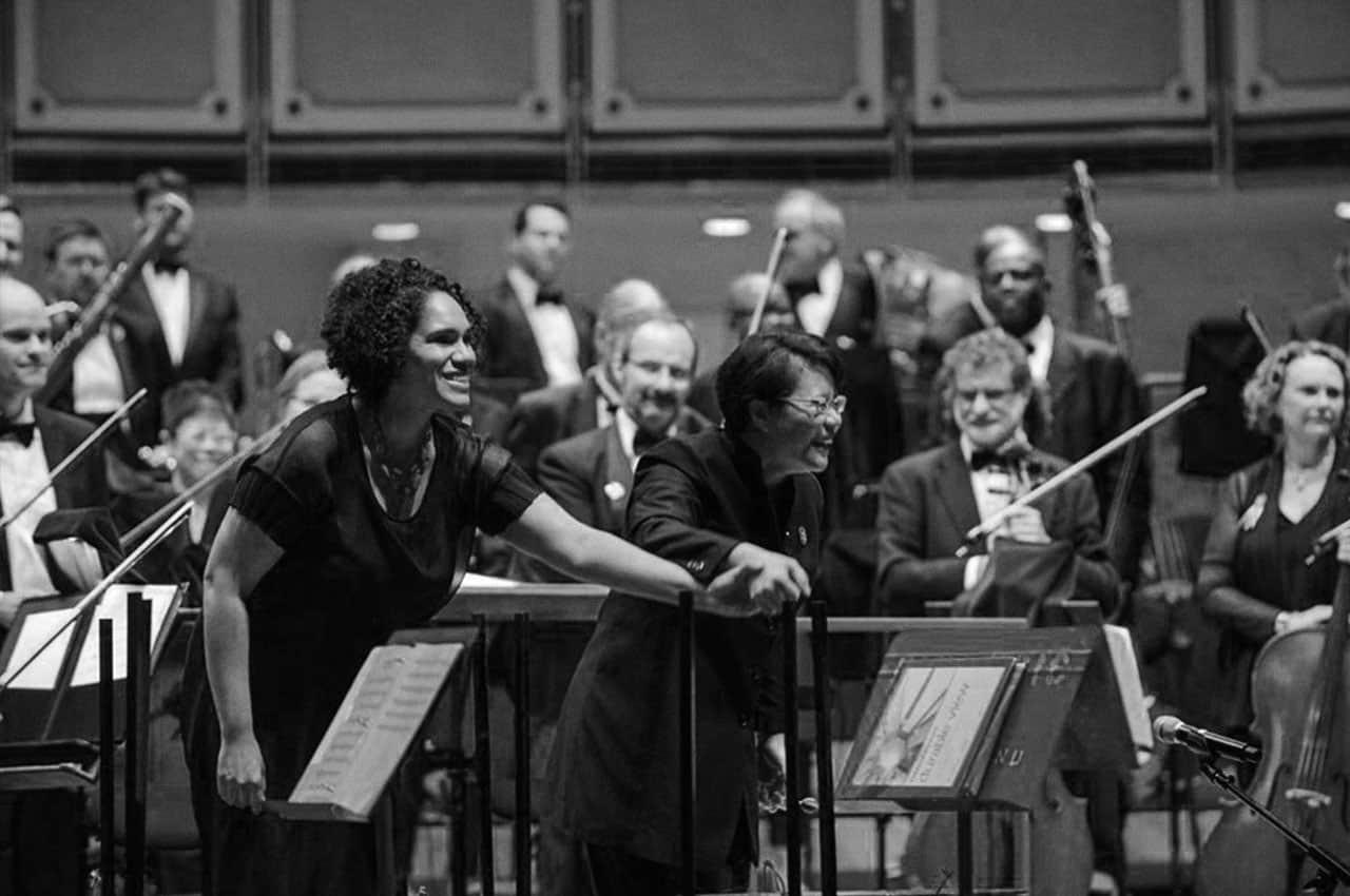 violinista afroamericana Jessie Montgomery