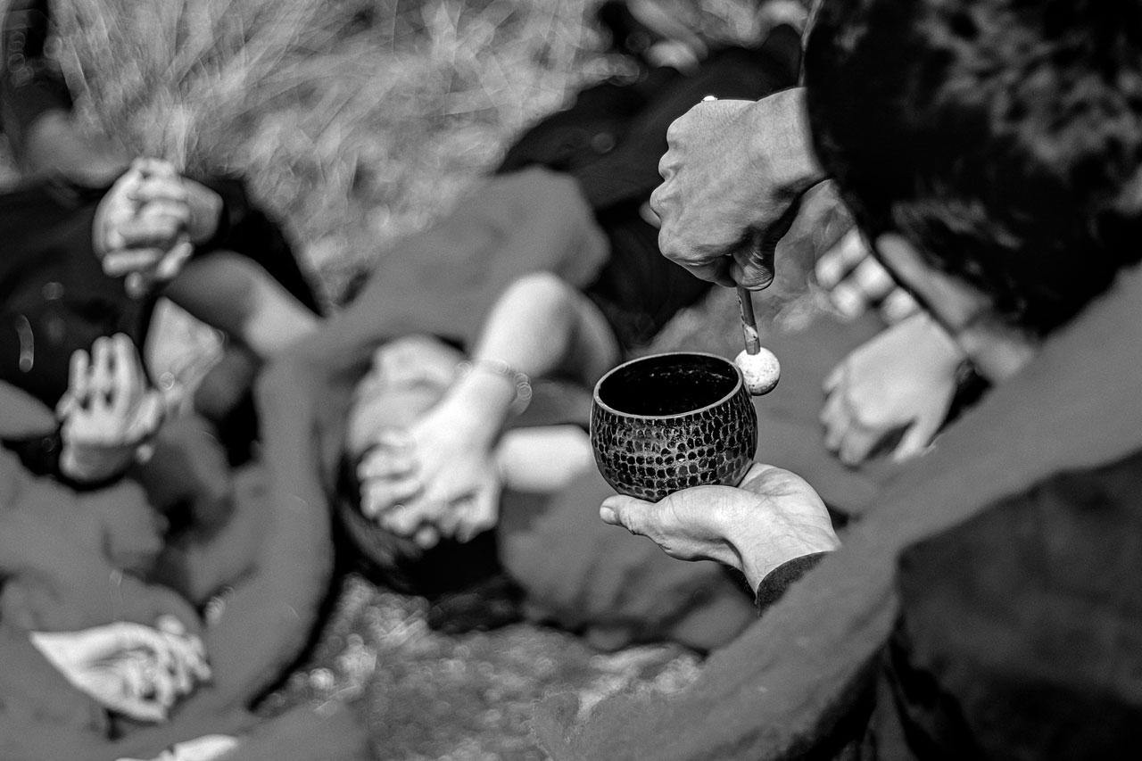 quipu de lava cecilia vicuña performance muac
