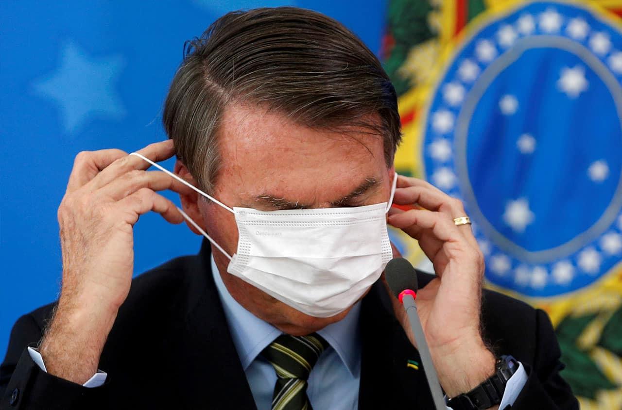 Jair Bolsonaro Covid-19 en Brasil