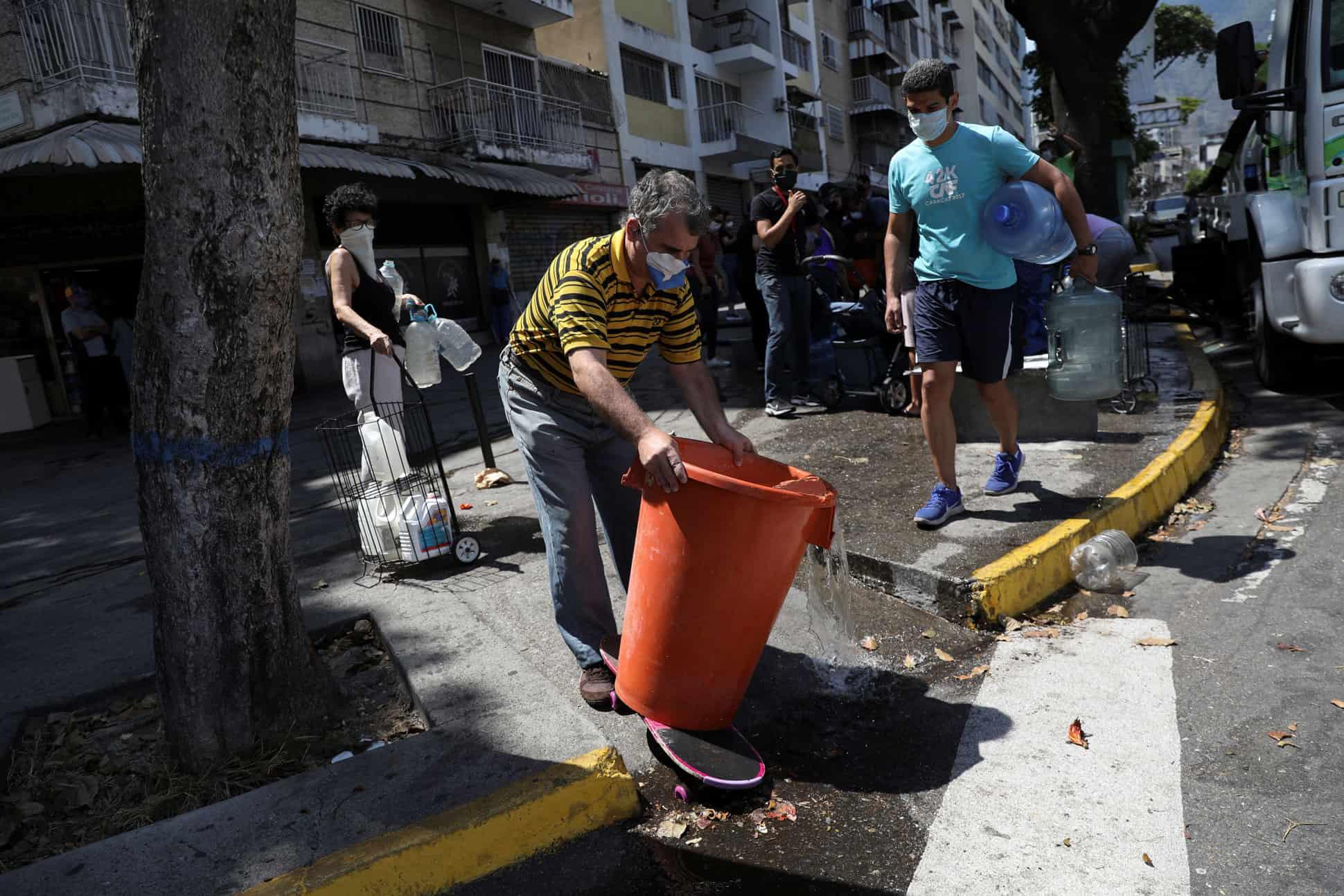 desabasto de agua venezuela