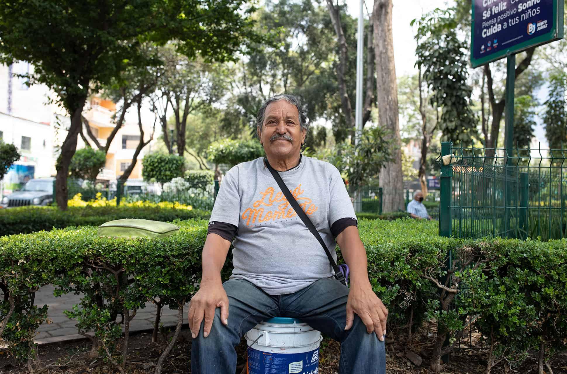 trabajadores informales de la ciudad de mexico