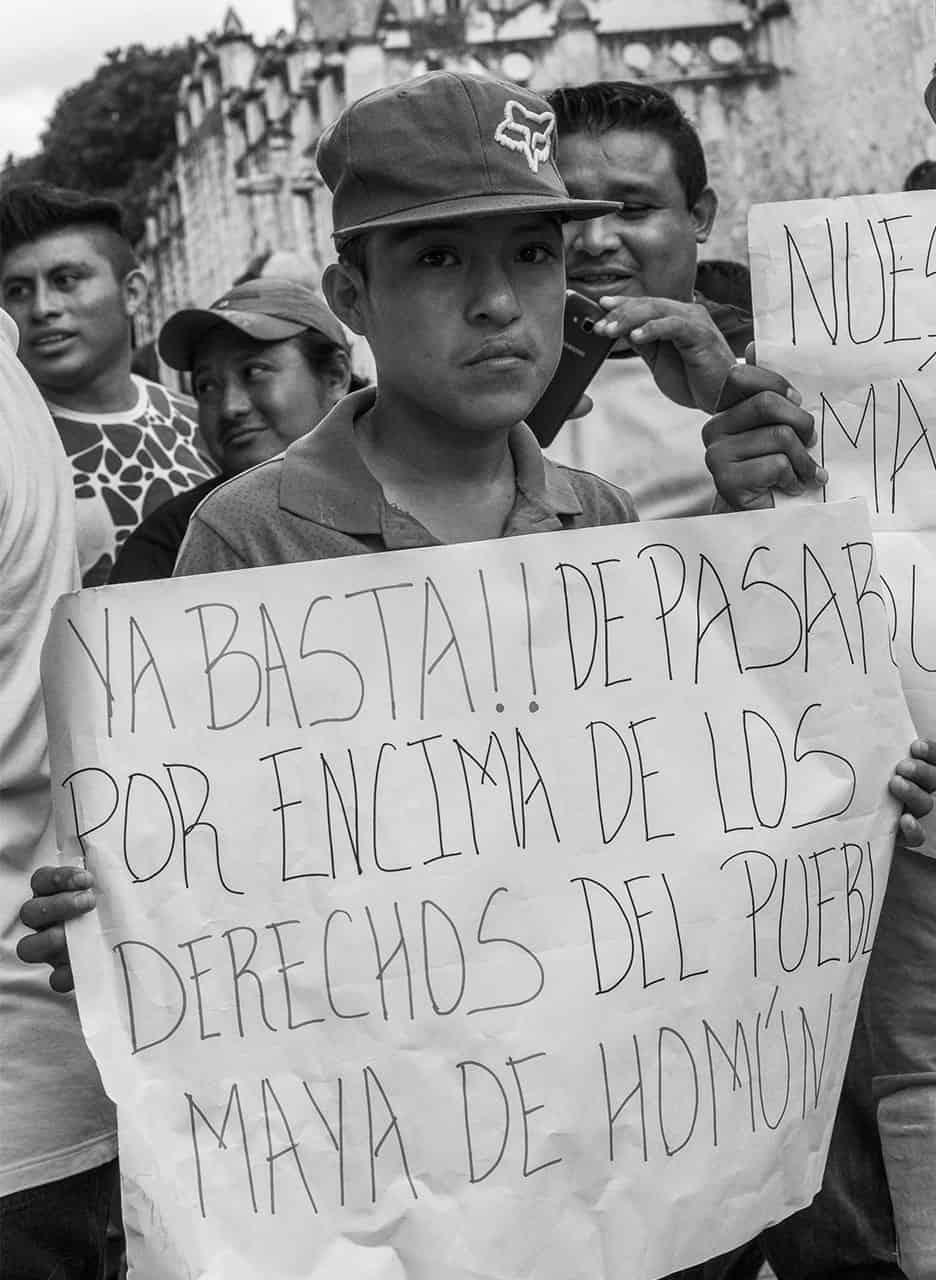 Homún derechos indígenas