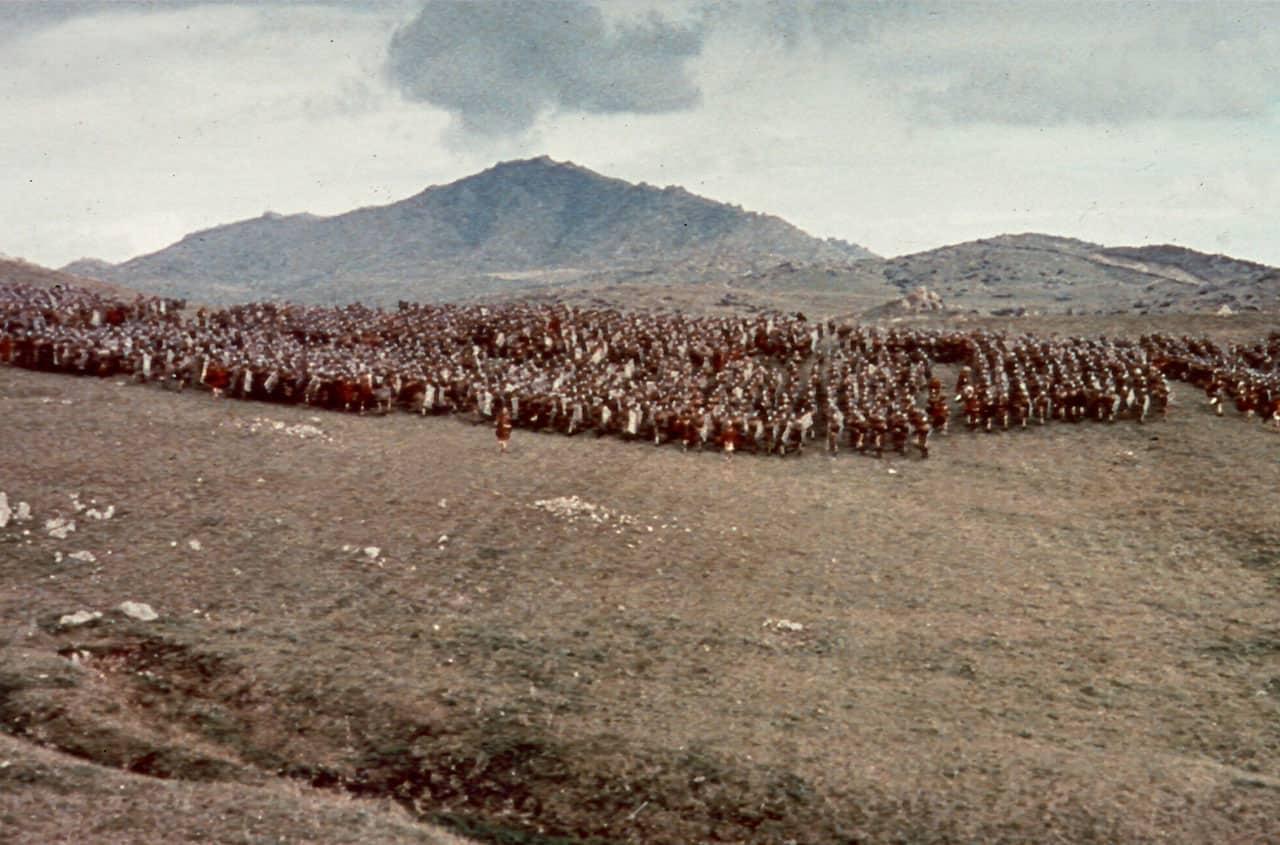 Espartaco (1960) de Stanley Kubrick.