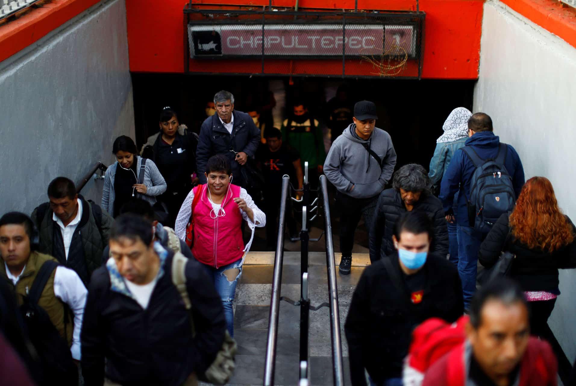 estación del metro Chapultepec