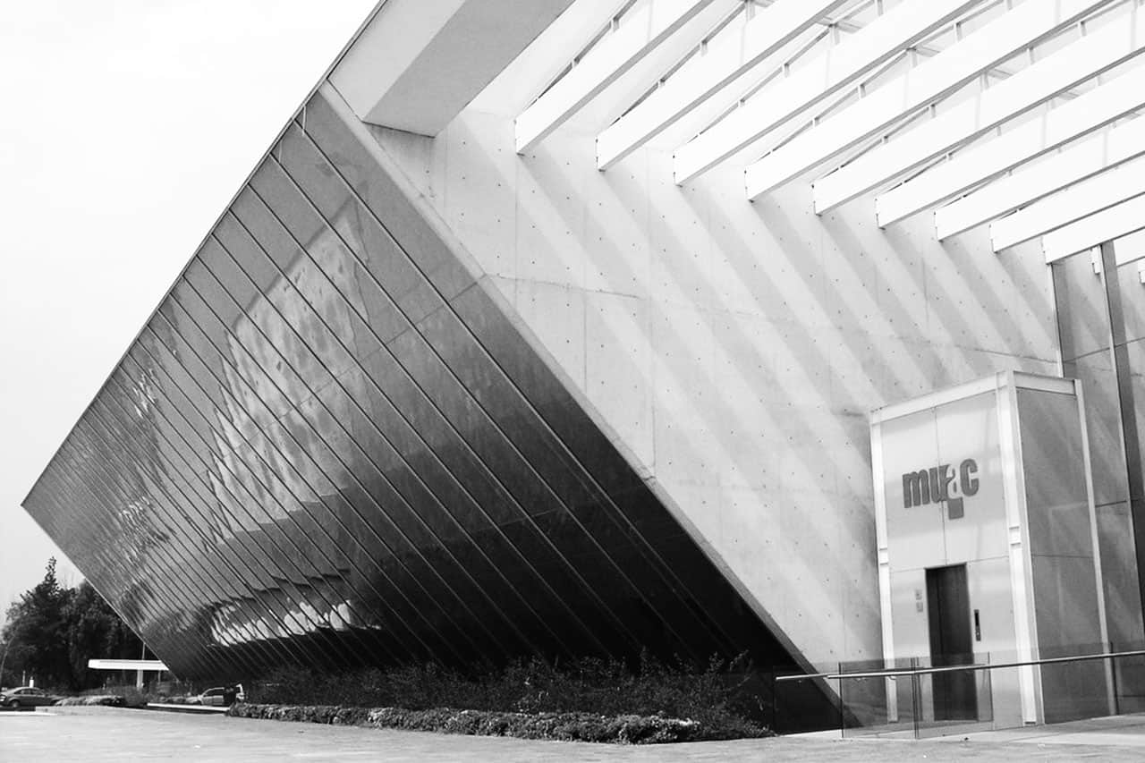 Museo Universitario de Arte Contemporáneo (MUAC) de la UNAM.