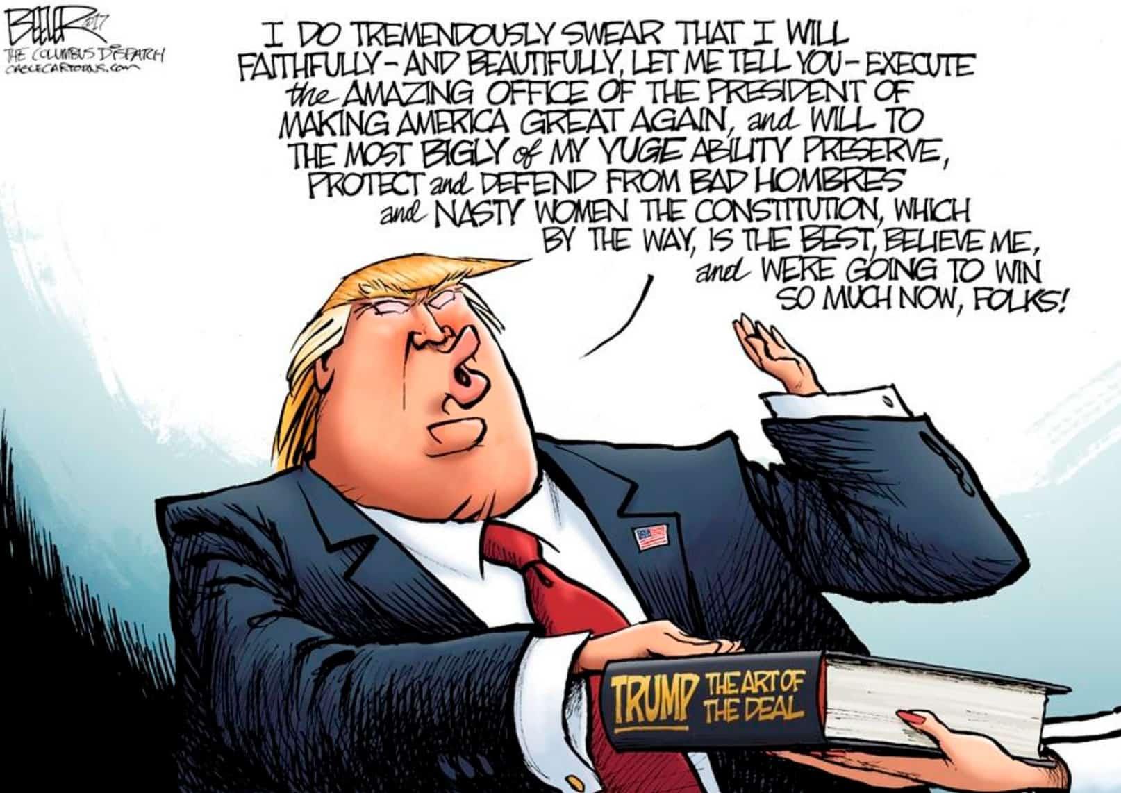 la dificultad de traducir a donald trump Trumpslation