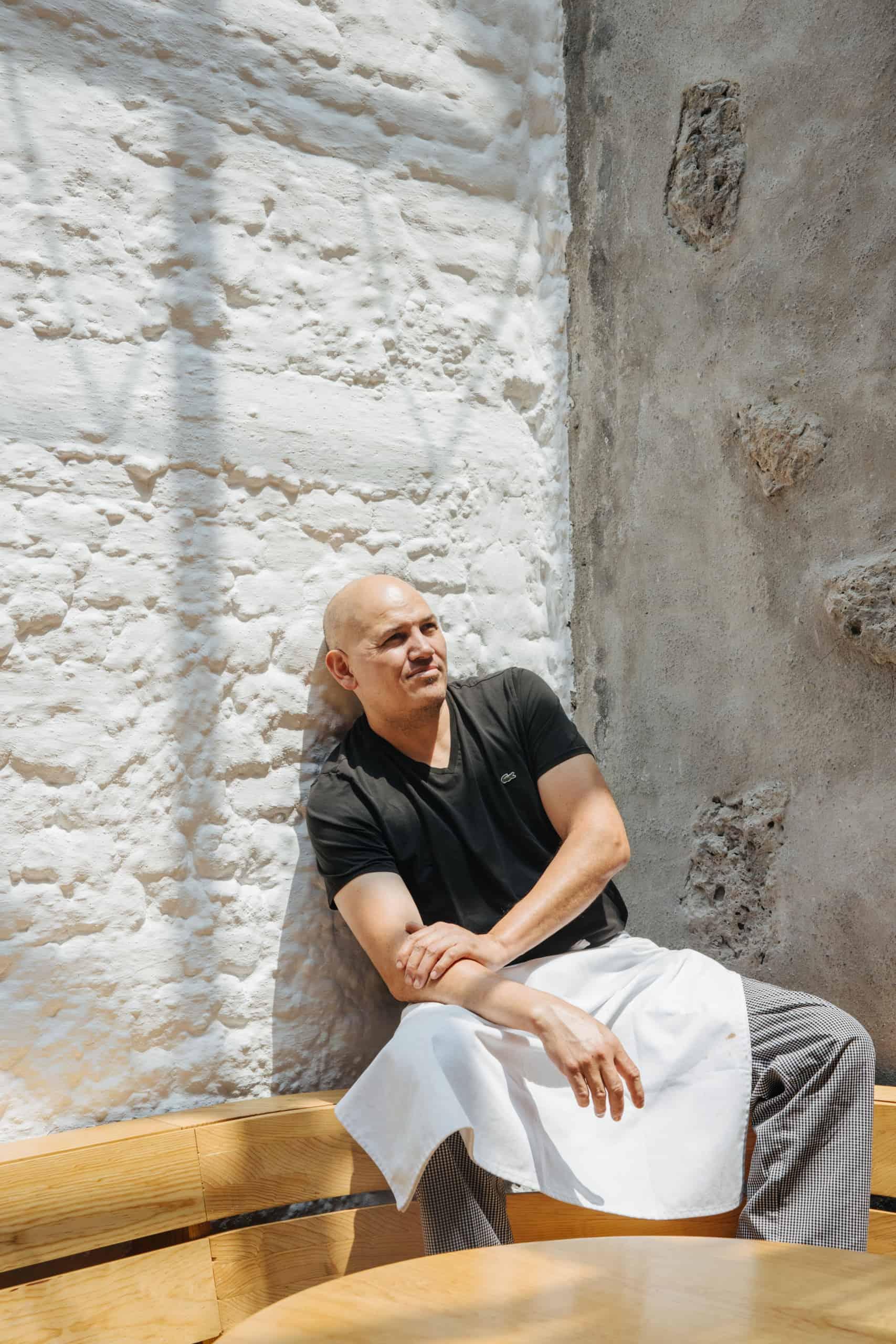 Eduardo García chef de Maximo Bistrot