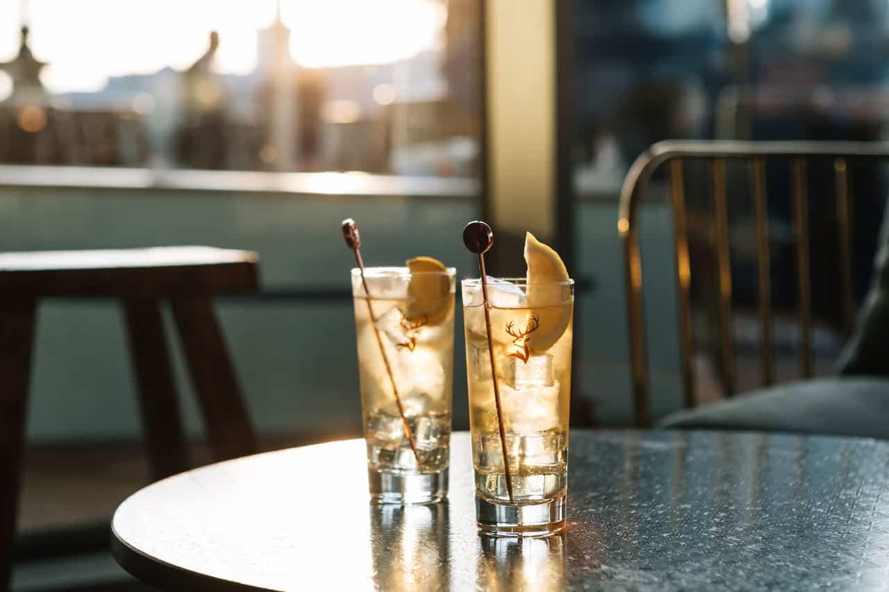 whisky Glenfiddich cocteles