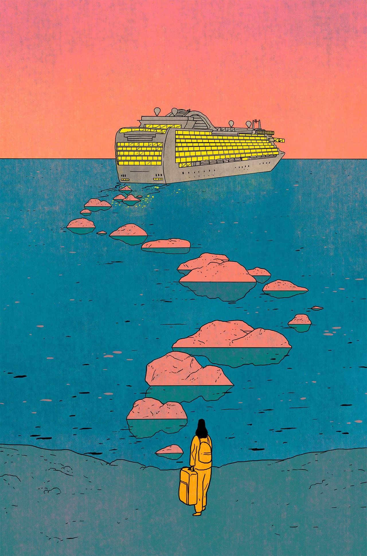 cruceros durante la pandemia Santiago Moyao