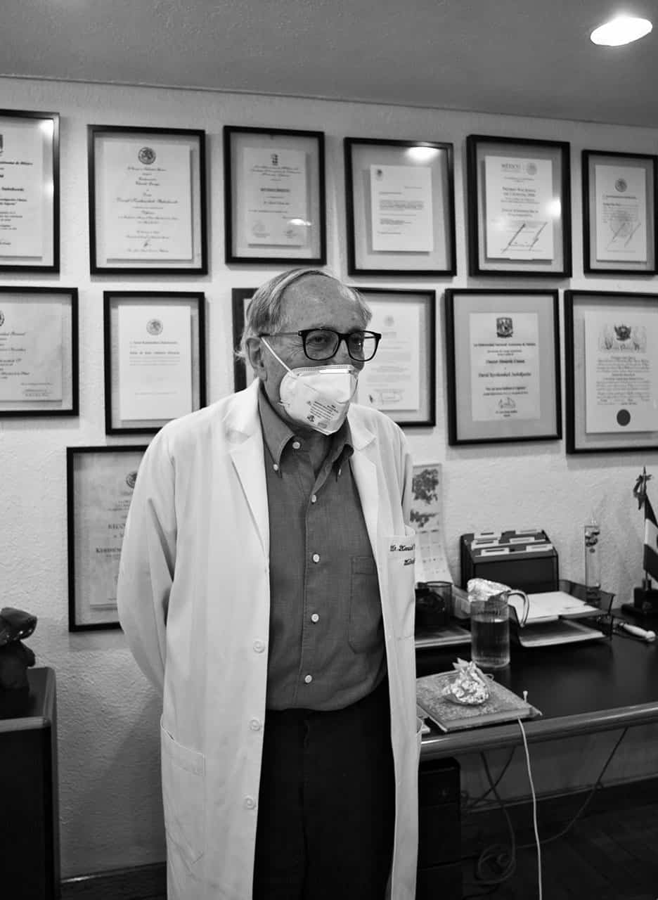 Dr. David Kershenobich Stalnikowitz covid-19