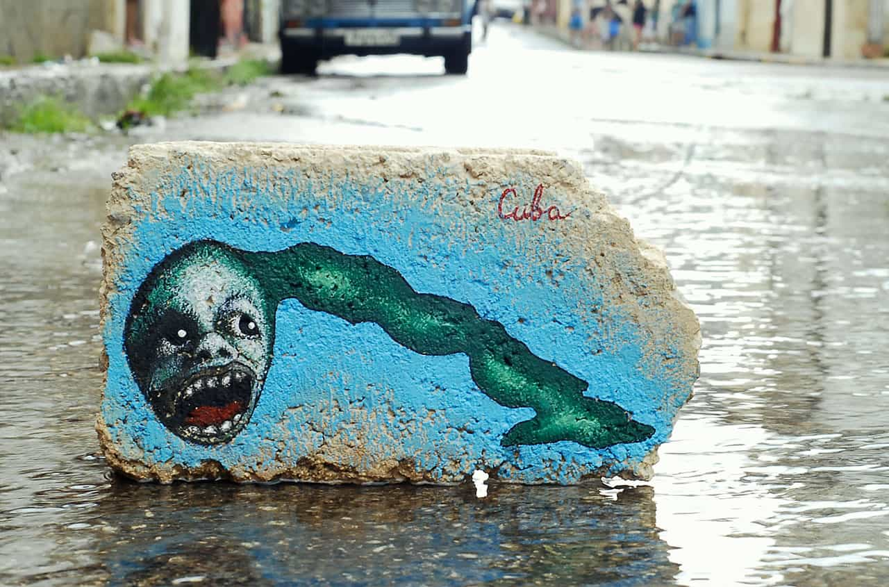 Yulier P. grafiti