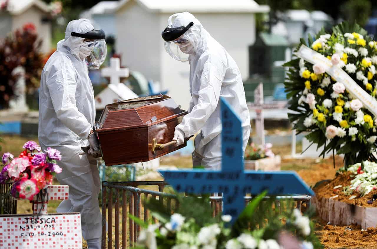 muertes en américa latina por coronavirus