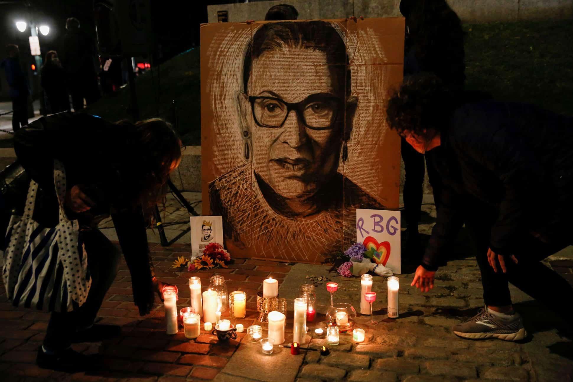 Ruth Bader Ginsburg muerte