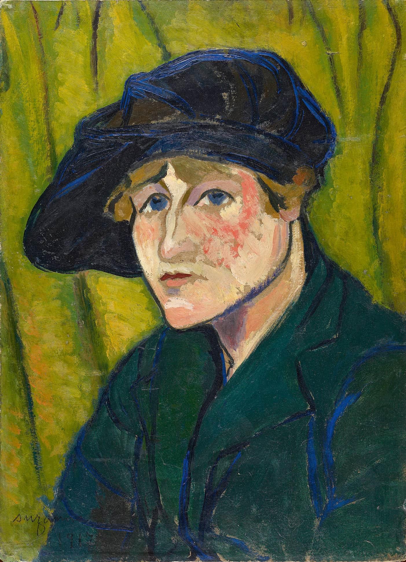 Suzanne Valadon (1917) de Amadeo Modigliani.
