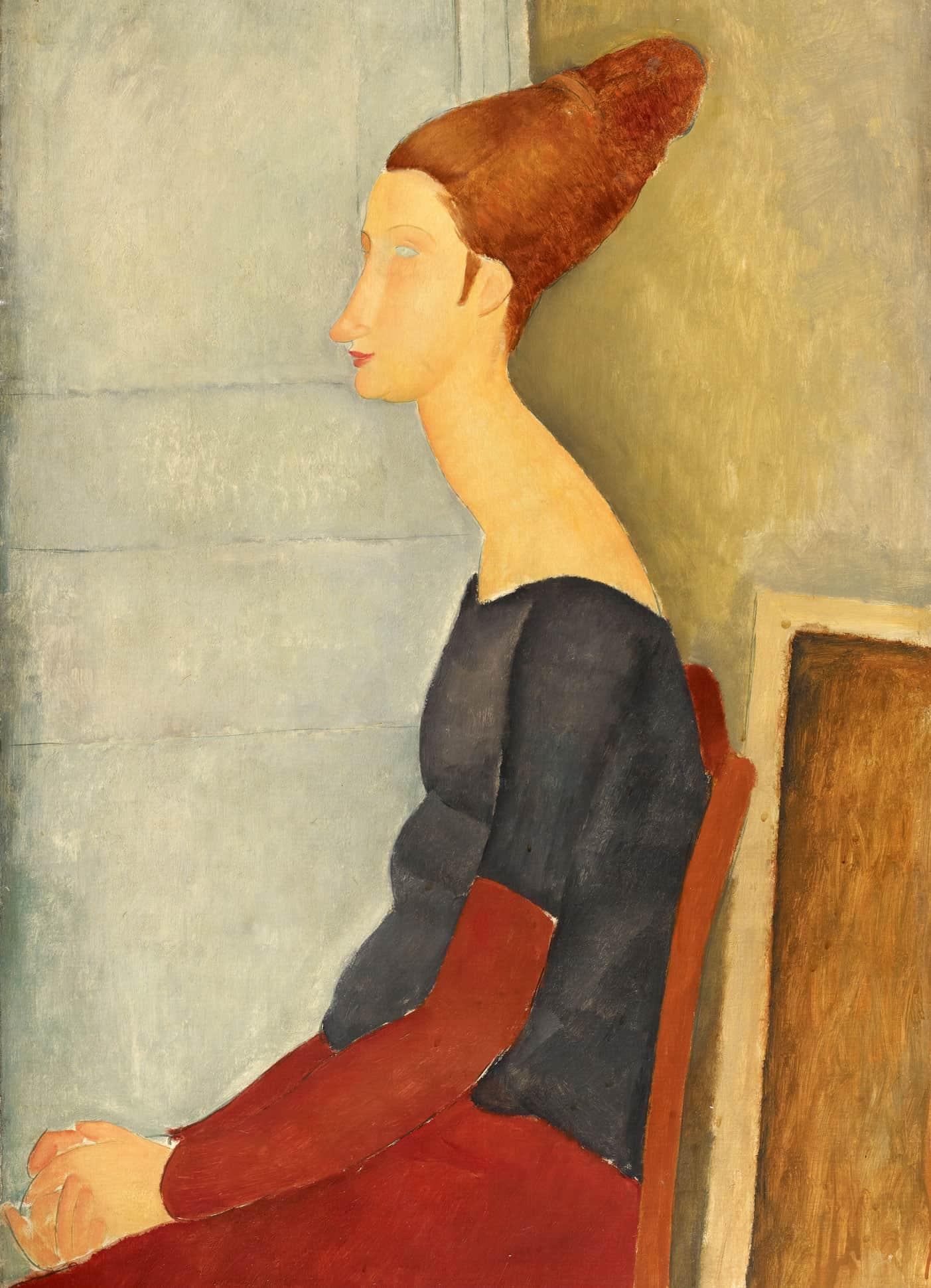 Jeanne Hébuterne (1918) de Amadeo Modigliani.