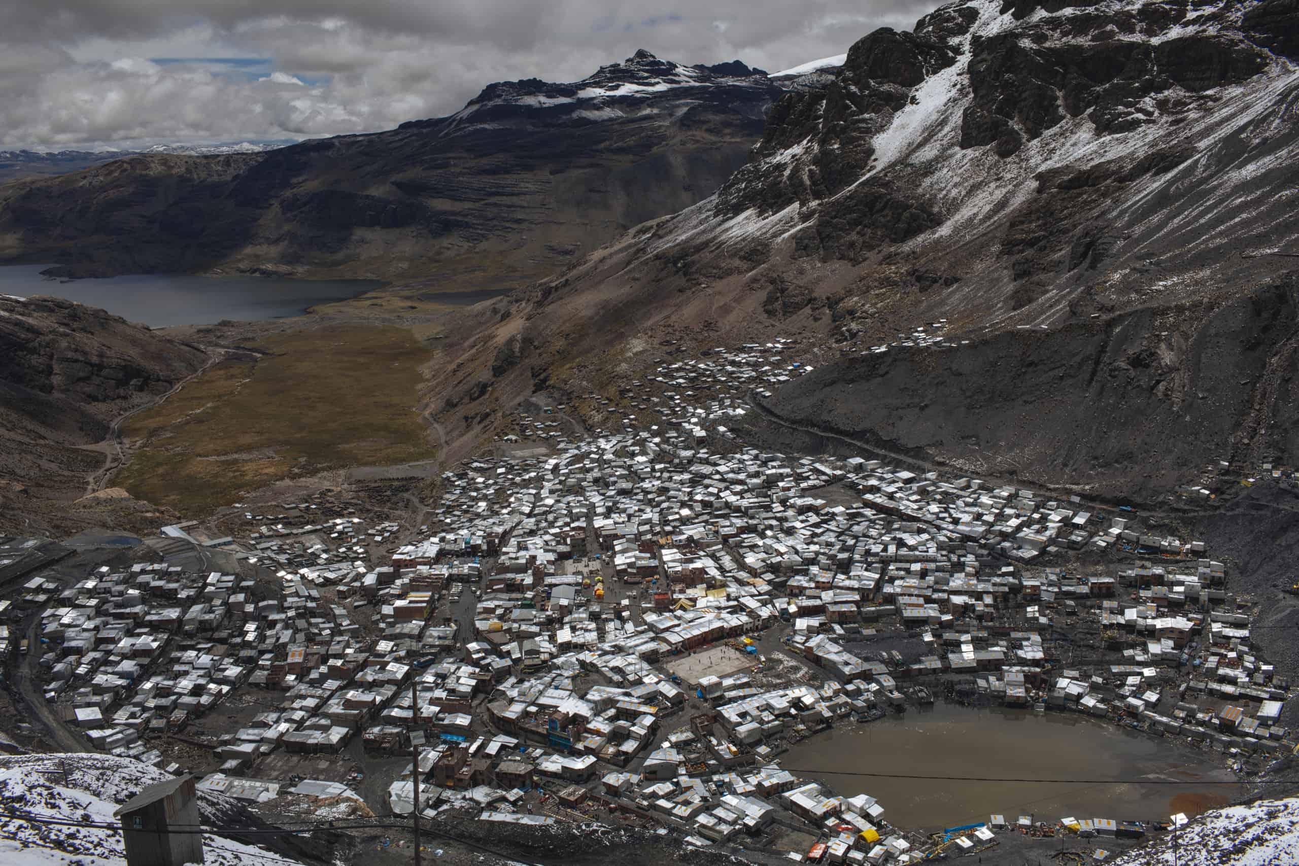 minas de oro los andes peruanos la rinconada