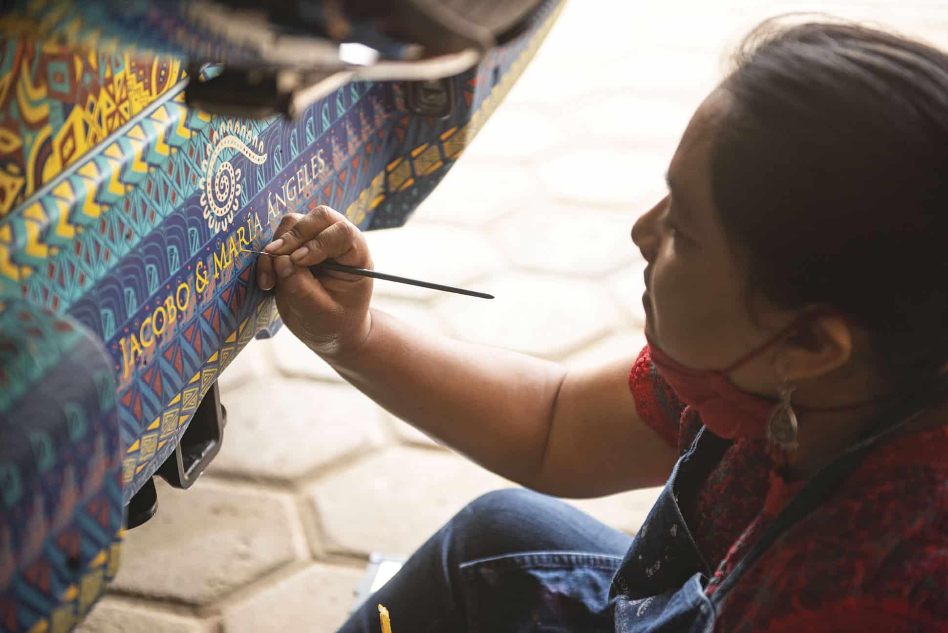 taller zapoteco mercedes benz oaxaca
