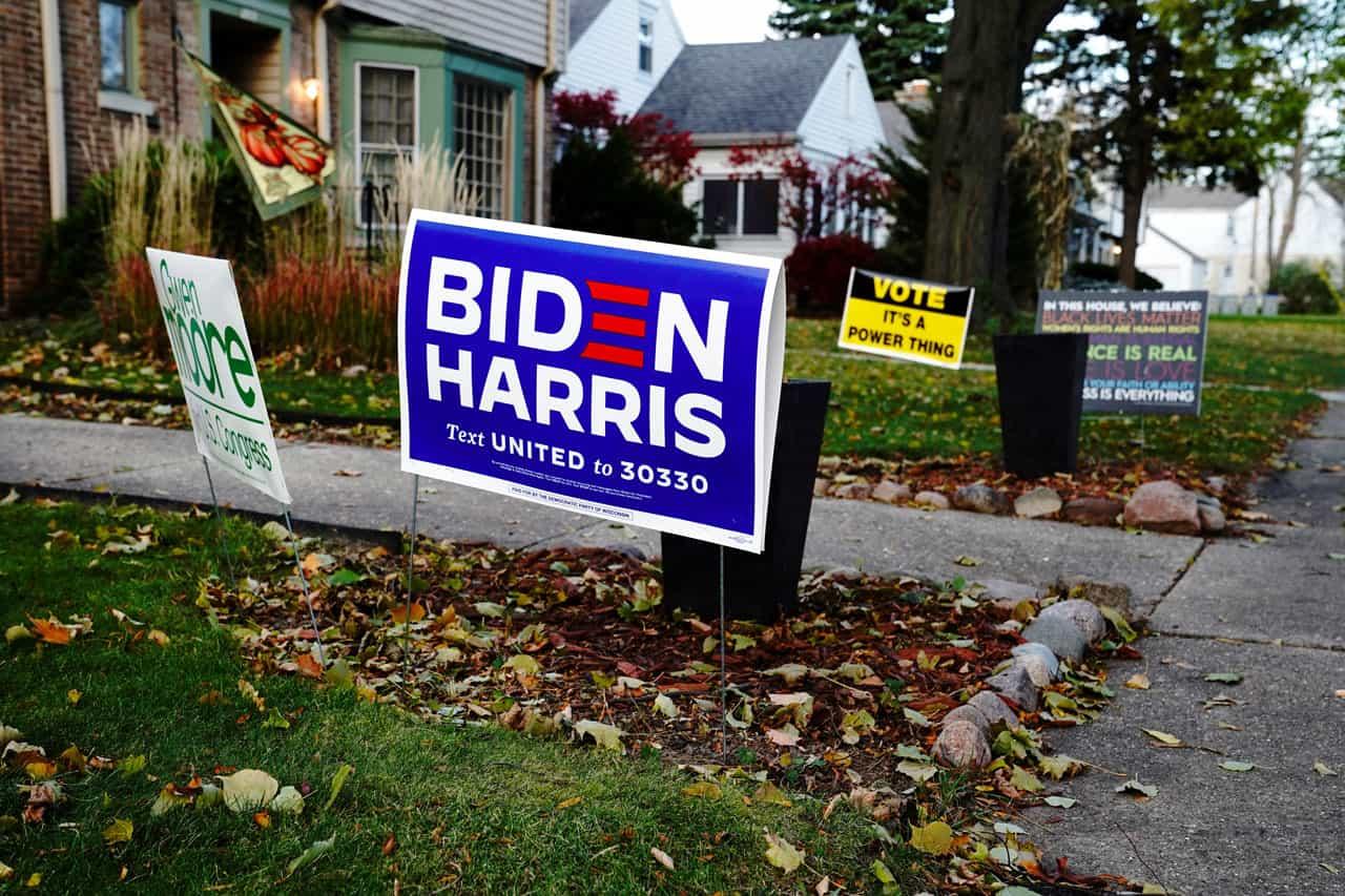 Biden Harris Wisconsin elecciones Estados Unidos