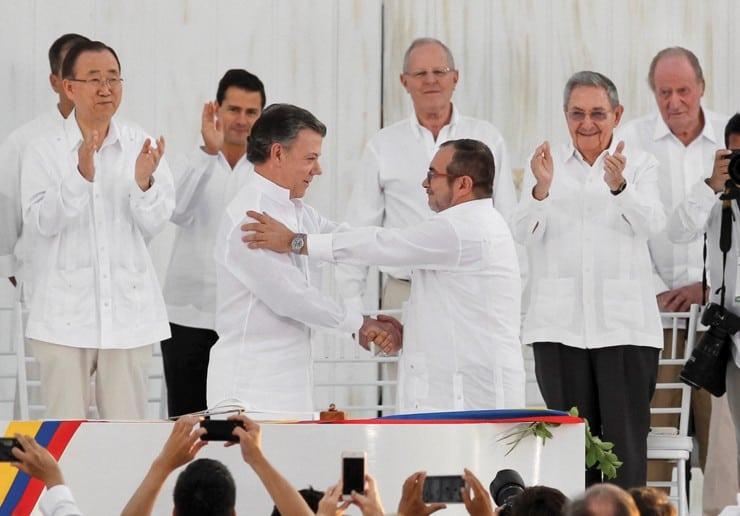 acuerdos de paz colombia juan manuel santos