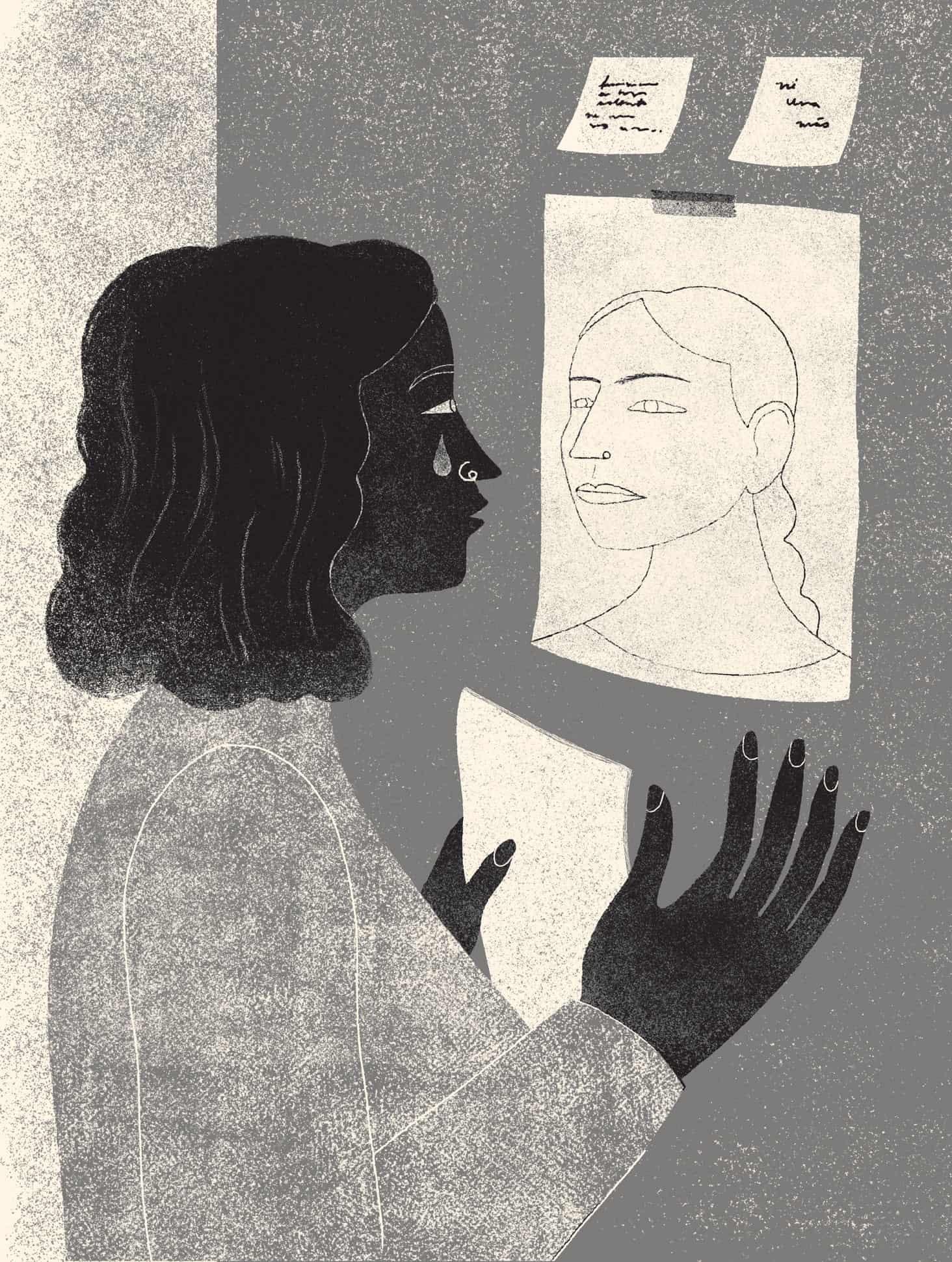 mujeres perito ilustracion de jimena estibaliz