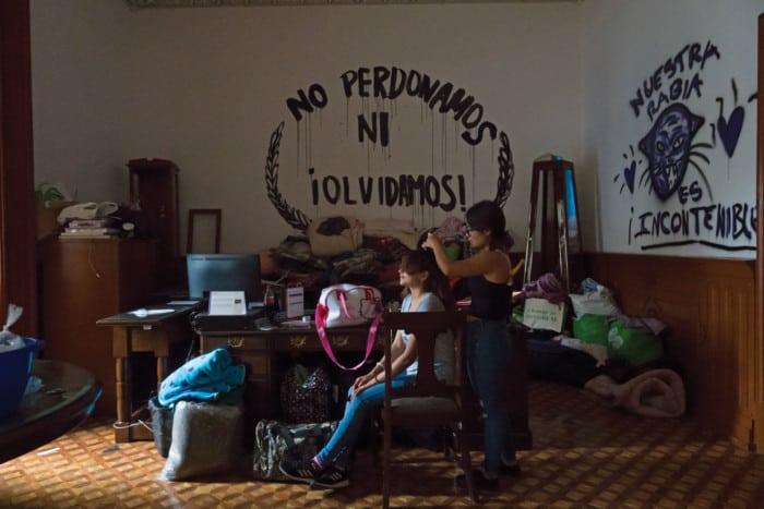 Toma CNDH Andrea Murcia Gatopardo 1