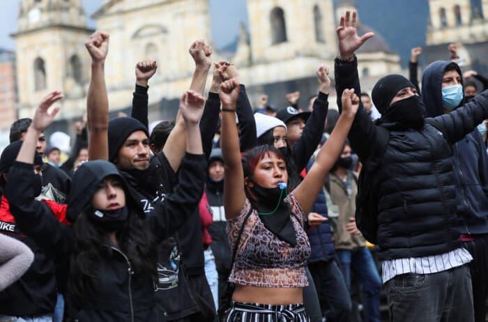 El Paro Nacional del 28 de abril convocó a los colombianos de todo el país en contra de la reforma tributaria del presidente Iván Duque.