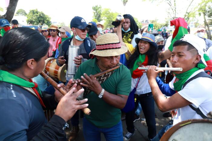 La ciudad de Cali es el epicentro de las protestas sociales que comenzaron poco después de que Iván Duque anunciara la Reforma Tributaria.