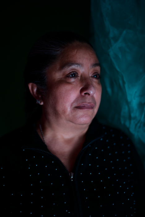 Aidé Hernández Ávila, madre de Natali quien fue víctima de desaparición forzada