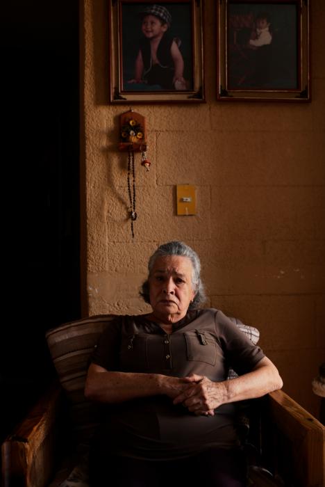 Los hijos de María Herrera Magdaleno fueron víctimas de desaparición forzada.