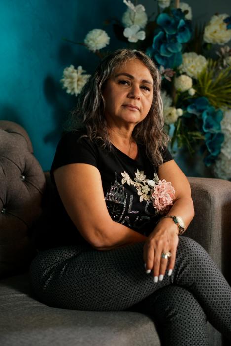 Mirtha Dolores Mendoza, madre de José Manuel, otro joven desaparecido en México.