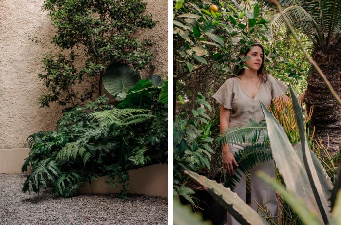 un procurar de la naturaleza que, históricamente, se ve relacionado de manera intrínseca con el género femenino. Nosotras siempre hemos tenido una relación íntima con las plantas y los jardines.