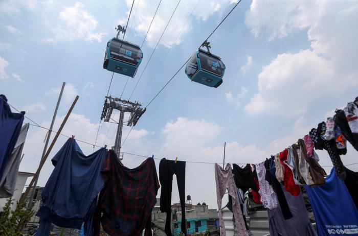 Una crónica sobre un viaje en el nuevo cablebús que se inauguró en la Ciudad de México el pasado once de julio y el recuerdo de la Línea 12.